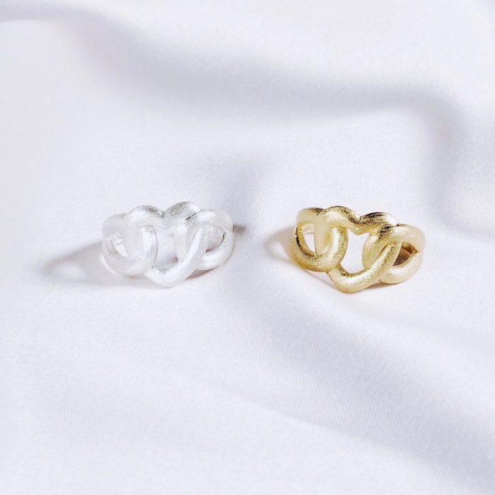 A.Brask - Justerbar ring - Hjertering