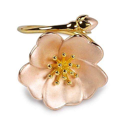 A.Brash - Wild rose justerbar ring - Smykker