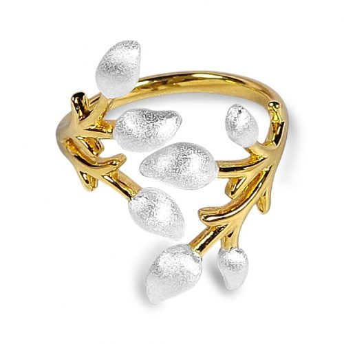 A.Brash - Blomstrende grenjusterbar ring - Ring