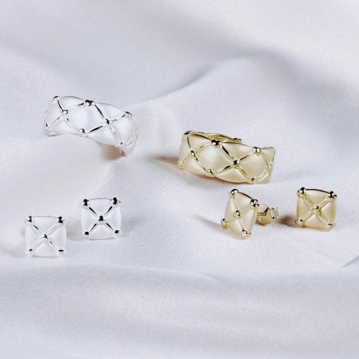 A.Brask - Hjerte justerbar ring - Smykker